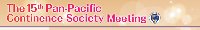 The 15th Pan-Pacific Continence Society Meeting